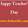 Happy Teacher's Day 2014