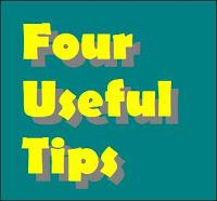4 useful tips