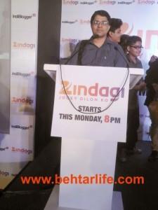 Snap-point 2 : Zindagi-Indiblogger Meet