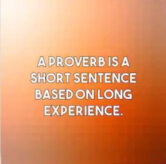 Proverbs in Hindi कहावतें