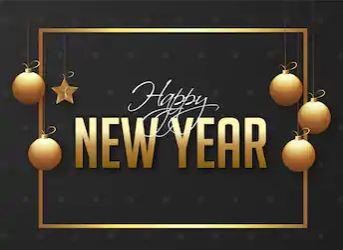 Wishing Happy New Year 2020