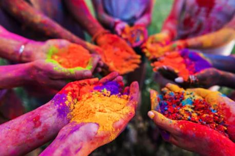 Celebrate Holi with Love and Joy