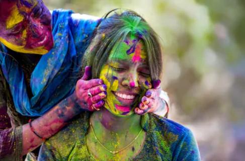 Holi Festival Symbolizes Victory of Good over Evil